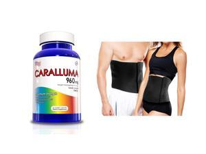 Caralluma Fimbriata Weight Loss Supplement w/ Waist Trimmer