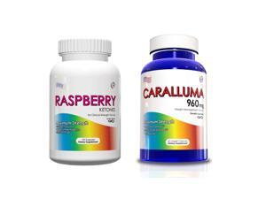 Weight Loss Kit-Raspberry Ketones and Caralluma Fimbriata Supplements