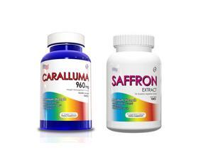 Weight Loss Kit - Caralluma Fimbriata and Saffron Extract Supplements