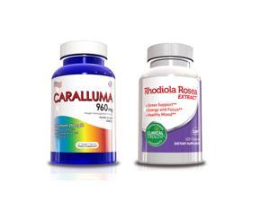 Weight Loss Supplements - Caralluma Fimbriata & Rhodiola Rosea Supply