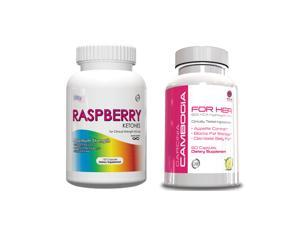 Weight Loss Pills - Raspberry Ketones & Garcinia Cambogia for Her Supp