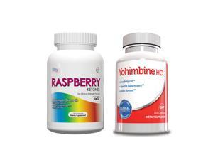 Weight Loss Supplements - Raspberry Ketones & Yohimbine HCL for Men
