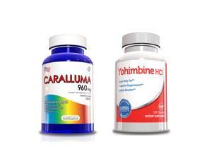 Weight Loss Product - Caralluma Fimbriata & Yohimbine HCL for Men