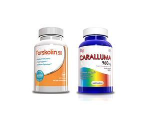 Weight Loss Pills - Forskolin 50 & Caralluma Fimbriata 30 Day Supply