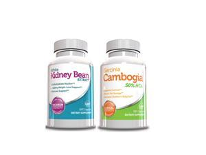 Weight Loss Pills - Garcinia Cambogia & White Kidney Bean Extract