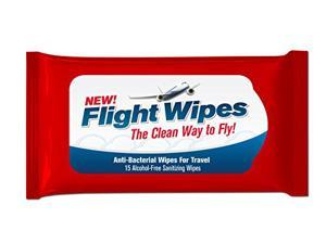 Anti-Bacterial Flight Wipes for Travel Way - Pack of 6