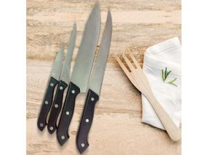 18-Piece Set: Assorted Cutlery with Knife Sharpener & Carrying Case