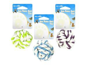 DOG ROPE BALL TOY