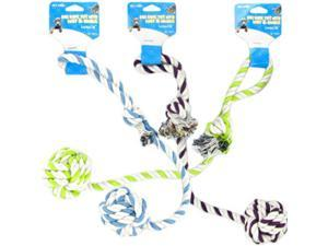 18 INCH DOG ROPE TOY WITH KNOT & HANDLE
