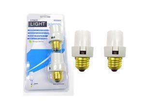 2-Pack: Automatic Energy-Saving Light Sensors for Standard Light Bulbs