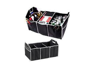 2 In 1 Trunk Organizer & Cooler Set, Collapsible & Portable, 2 Piece Set