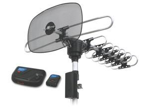 360 Degrees Rotating Outdoor HD VHF/UHF/FM TV Antenna
