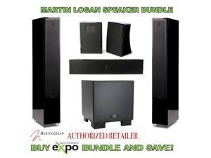 MartinLogan Motion20 Speaker Package Plus Dynamo 700 Wireless Subwoofer