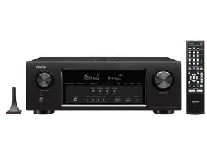 Refurbished: Denon AVR-S720W 7.2 Channel Full 4K Ultra HD AV Receiver with Built-In Wi-Fi and Bluetooth