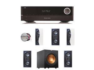HARAVR1710BND126 Harman Kardon AVR 1710 7.2-Channel 100-Watt N + Speakers Bundle