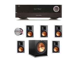 HARAVR1710BND157 Harman Kardon AVR 1710 7.2-Channel 100-Watt N + Speakers Bundle