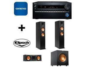 ONKTXNR1030BND29 Onkyo TX-NR1030 9.2-Ch Dolby Atmos Ready Network A/V Receiver + Speakers Bundle