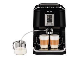 KRUEA880851 KRUPS EA8808 2-IN-1 Touch Cappuccino Fully Automatic Espresso Machine, 57-Ounce, Black