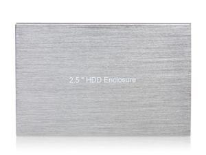 """BS-U25YA 2.5"""" USB2.0 to SATA HDD Enclosure Case (Silver)"""