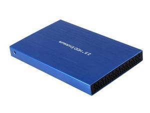 "BS-U25YA 2.5"" USB2.0 to SATA HDD Enclosure Case (Blue)"