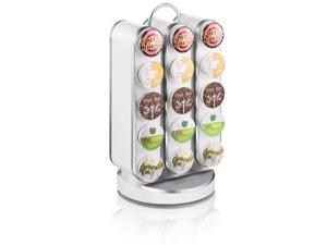 Vortex Coffee Pod/K-Cup Carousel - 30 Cup