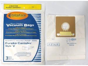 Eureka Style V Anti-Bacterial Vacuum Cleaner Bags (10-pack)