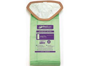 Proteam 107313 Vac Bags, SuperCoach Pro 10 Vacum Bag Filters Traps Dangerous Spores (10/pk)