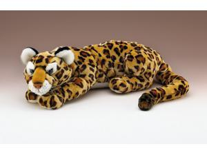 "Jaguar Lying by Wildlife Artists 35"" L with Tail"