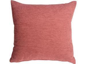 Pillow Decor - Arizona Chenille 20x20 Pink Throw Pillow