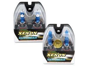 4 9005 HB4 9006 HB3 6000K Xenon Halogen Headlight Lamp Bulbs 100W