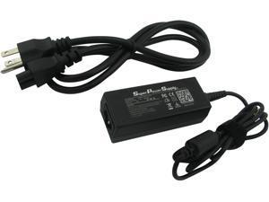Super Power Supply® AC/DC Laptop Charger Cord for MSI Wind U100, U100 Plus, U160, U160MX, U180, U200, U90, U100x, U115, U115h, U120, U120h, U123, L1300, L1350, X400&#59; MS-N0111, MS-N081,MS-N082, MS-1242