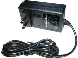 Super Power Supply® AC/DC Charger Cord Western Digital Wd Tv Live Hd Media Player Wdbacc0020hbk-eesn Tv Mini&#59; Wd My Book External Hard Drive HDD Wdxu400bbrnx Wdxu800bbrne Wdxu800bbrnn Wall Barrel Plug