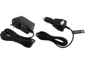 Super Power Supply® AC / DC Adapter 2 in 1 Combo Wall + Car Charger for Samsung Galaxy Tablets