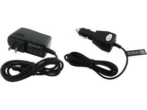 Super Power Supply® AC / DC Adapter Cord 2 in 1 Combo Wall + Car Charger for Garmin GPS Portable Navigator Nuvi Nüvi 670 680 750 755t 760 765t 770 775t 780 785t 805 850 855 880 885t 1100 Mini USB Plug