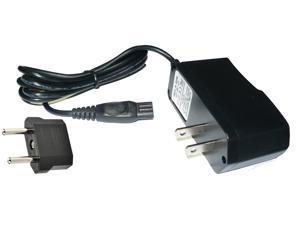 Super Power Supply® AC / DC Wall Adapter Charger Cord for Philips Norelco Aquatec AT810 AT810/41 AT814 AT814/41 AT815 AT815/41 AT830 AT830/41 AT875 Electric Shaver / Razor + EU Euro Plug Adapter