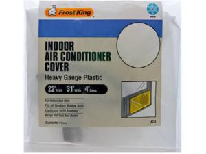 Thermwell Frost King, AC4H, 3 Mil Indoor Air Conditioner Cover, Heavy Gauge Plastic