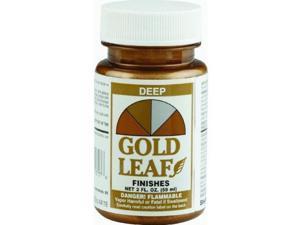 SHEFFIELD, 1717, Gold Leaf Metallic, 2 OZ Bottle, Deep Gold Leaf Finish