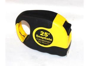 SnapGate, 00105, 25' Carabiner Tape Measure, Easy Grip Rubberized