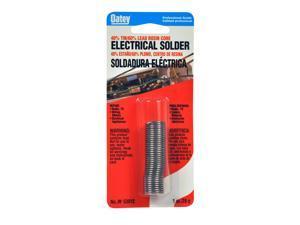 Oatey, 53185, 1 OZ, 60/40 Rosin Core Wire Electrical Solder