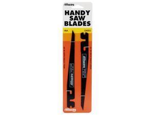 Allway Tools, HBA, 2 Pack, Handy Keyhole Saw Blades, 1 Metal And 1 Wood