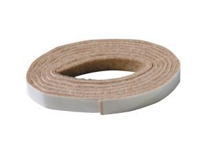 "Shepherd, TV23107, 1/2"" x 58"", Beige, Self Adhesive Felt Strip Pad, Strip, Heavy Duty"