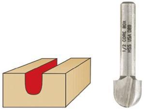 "Vermont American, 22152, 1/2"" High Speed Steel Core Box Router Bit"
