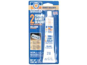 Permatex, 80016, 3 OZ Tube Gasket #2 Sealant, Form-A-Gasket, Non Hardening Formula