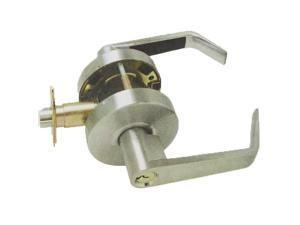 Ultra, 44273 Dull Chrome US26D, Entry Entrance Grade 2 Commercial Cylindrical ADA Clutch Angled Lever Lockset With SC4 Keyway