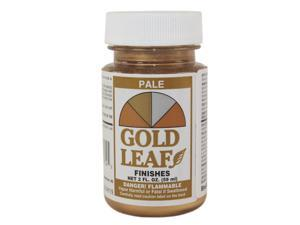 SHEFFIELD, 1714, Gold Leaf Metallic, 2 OZ Bottle, Pale Gold Leaf Finish Paint