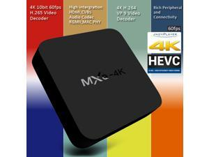 MXQ-4K RK3229 Cortex A7 Android 5.1 KODI 16.1 High performance 4K OTT Smart TV Box Streaming Media Player