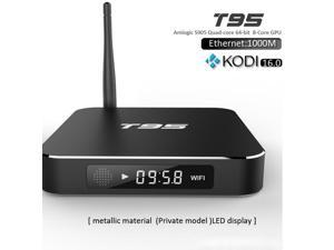 T95 Smart OTT TV Box Android 5.1 1G+8G KODI IPTV UHD 4K Smart TV Box Streaming Media Player