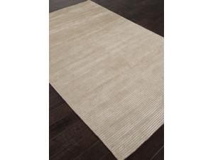 Handloom Solid Pattern Ivory White (5x8) Wool/Art Silk Area rug