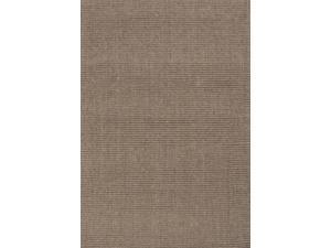 Sisal Taupe Tan Solid Pattern Natural Rug (5' x 8')