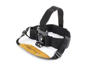 TOZ Lightweight Head Belt Mount Strap for GoPro Hero 2 / 3 / 3+ - Black